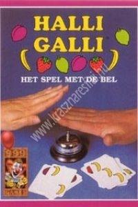 Halli Galli – Gyorsaság- és figyelemfejlesztõ társasjáték