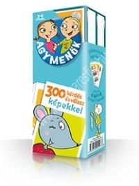 Agymenők 3-4 éveseknek kártyacsomag 300 kérdés és válasz