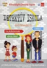 Detektív iskola - Logika és megfigyelőképesség