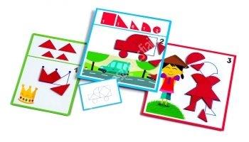 Formák és alakzatok - Képességfejlesztő játék (BNDJ08300)