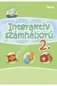 Második interaktív számháború - Tankönyvfüggetlen interaktív e-tananyag CD-ROM