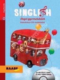 Singlish - Angol gyermekdalok (daloskönyv CD-melléklettel)