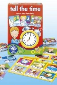 Mondd meg, hány óra van! - Képességfejlesztő társasjáték az óra megismeréséhez és gyakorlásához (OR015KT)