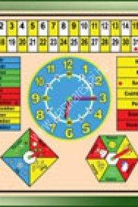 Naptár - Fejlesztő eszköz az évszakok, hónapok, napok, időjárás játékos tanulásához