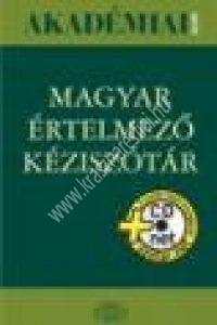 Magyar Értelmezõ kéziszótár