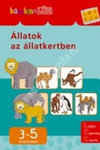 BambinoLÜK 3-5 éveseknek – Állatok az állatkertben