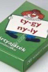 Hargitai Katalin: Kártyajáték mondatokkal ty-gy, ny-ly (olvasókártya)