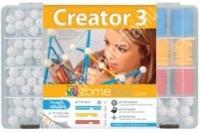 Zometool Creator 3 (BN) haladó alapkészlet - Konstrukciós játék és szemléltető eszköz