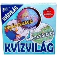 Kvízvilág - Európa közepén és A világ országai társasjáték