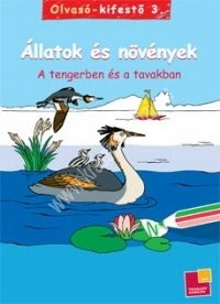 Olvasó-kifestő 3. A tengerben és a tavakban