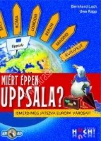 Miért éppen Uppsala? Ismerd  meg játszva Európa városait! - társasjáték