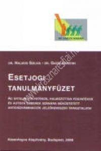 Dr. Halmos Sz. – dr. Gazsi A.:Esetjogi gyûjtemény