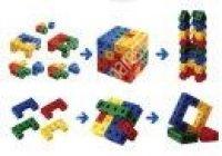 Összekapcsolható színes kockák (MDDV7121)