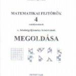 Vinnai Péterné:Matematikai fejtörõk 4. megoldása