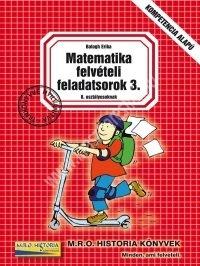 Matematika felvételi feladatsorok 3. (8. o.)
