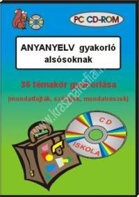 Anyanyelv gyakorló alsósoknak – PC CD-ROM