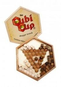 CubiCup - fadobozban, fa kockákkal