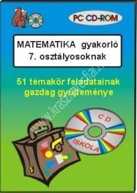 Matematika gyakorló 7. osztályosoknak – PC CD-ROM