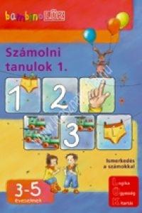 BambinoLÜK sorozat 3-5 éveseknek – Számolni tanulok 1.