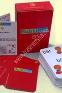 Bubidam kártya a betűtévesztés korrigálására, B betű