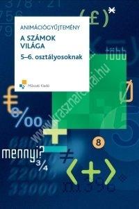 A számok világa 5-6. osztályosoknak - Tankönyvfüggetlen interaktív e-tananyag CD-ROM