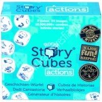 Történet kocka akciók - társasjáték (sztori kocka)
