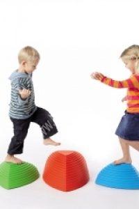 Dombtetőre fel! 5 db-os készlet - Egyensúlyozó játék, nagymozgásos fejlesztő eszköz (GON2121GR)