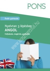 PONS Nyelvtan 3 lépésben Angol ÚJ