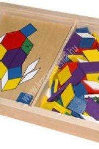 Mozaik Színes tangram - Fejlesztő játék