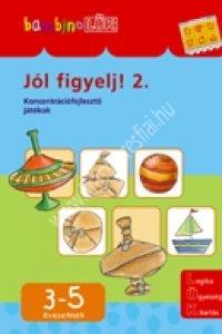BambinoLÜK sorozat 3-5 éveseknek – Jól figyelj! 2.