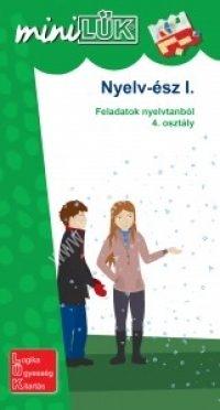 MiniLÜK Nyelv-ész I. - Feladatok nyelvtanból 4. osztály