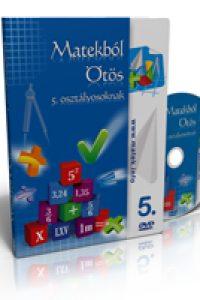 Matekból ötös 5. osztály - Oktató DVD
