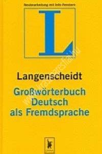 Langenscheidt Grosswörterbuch - Egynyelvű német szótár