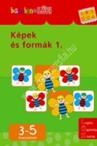 BambinoLÜK sorozat 3-5 éveseknek – Képek és formák 1.