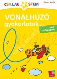 Vonalhúzó gyakorlatok (sárga) Írás-előkészítés