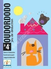 Ourdordodo logika, megfigyelés, memória - Kártyajáték (BNDJ05106)