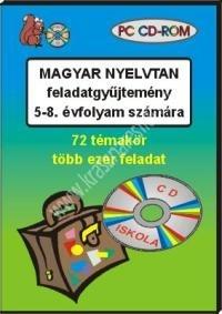 Magyar nyelvtan feladatgyûjtemény 5-8. évfolyam számára – PC CD-ROM