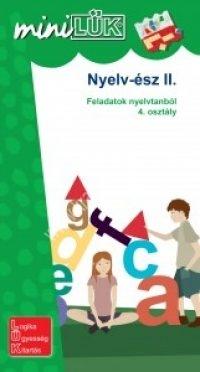 MiniLÜK Nyelv-ész 2. - Feladatok nyelvtanból 4. osztályosoknak