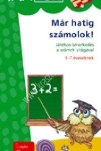 MiniLÜK sorozat – Már hatig számolok! Játékos ismerkedés a számok világával 5-7 éveseknek