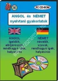 Angol és német nyelvtani gyakorlatok – PC CD-ROM