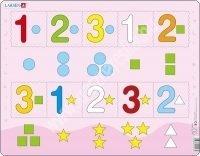 Számok 1-5 ig Maxi puzzle