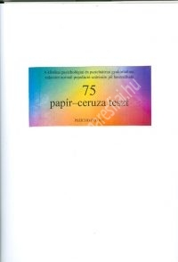 75 papír-ceruza teszt