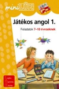 MiniLÜK Játékos angol 1. – Feladatok 7-10 éveseknek