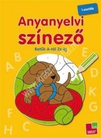Anyanyelvi színező - A-Zs