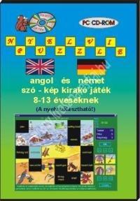 Angol és német szó-kép kirakó játék 8-13 éveseknek – PC CD-ROM
