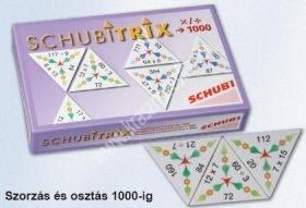 Schubitrix Szorzás és osztás 1000-ig