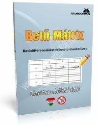 BetűDiFix - Betű-mátrix munkafüzet
