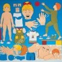 A test és arckifejezések - mágneskártyák (MD-DV30247) - Képességfejlesztő eszköz - Szókincsbővítés, beszédfejlesztés