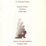 Dr.Marton Dévényi É. – Szerdahelyi M. – Tóth G. – dr. Keresztesi K.:Alapozó Terápia tanulmány