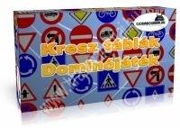 Kresz közlekedési táblák dominójáték